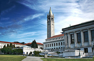 English: Campus of the UC Berkeley in Berkeley...