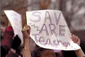 Save Are Teachers!